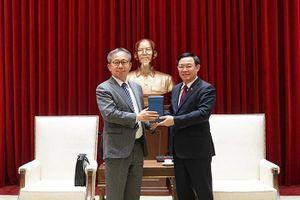 Bí thư Thành ủy Hà Nội đề nghị Nhật Bản tiếp tục hỗ trợ ODA cho các dự án hạ tầng