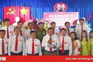 Kết thúc Đại hội đại biểu xã Bình Thạnh Đông lần thứ XV (nhiệm kỳ 2020-2025)