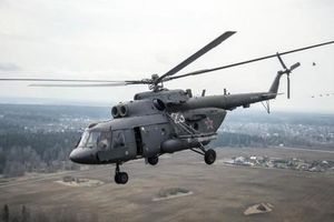 Trực thăng quân sự Nga rơi, 4 người tử nạn