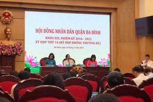 Quận Ba Đình có thêm một phó chủ tịch UBND quận