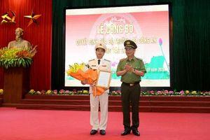 Đại tá Lê Xuân Minh làm Giám đốc Công an tỉnh Hòa Bình