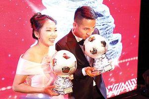 Chúc mừng Quả bóng vàng Hùng Dũng, Huỳnh Như!