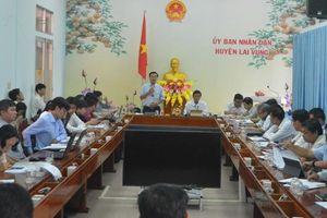Kiểm tra công tác cải cách hành chính tại 2 huyện Lai Vung, Lấp Vò