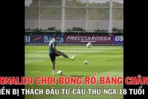 Ronaldo bị cầu thủ trẻ ở học viện 'thách đấu'