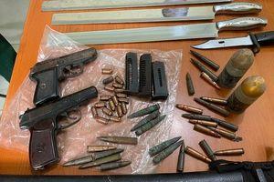 Hàng nghìn vũ khí, vật liệu nổ được Công an Hà Nội thu giữ