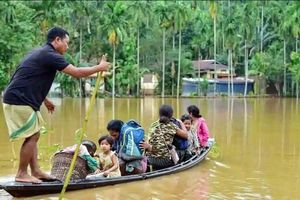 Lũ lụt tại nhiều nước