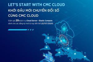 CMC giảm giá 20% cho DN sử dụng dịch vụ điện toán đám mây