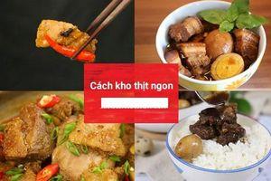 Kho thịt xong đừng vội tắt bếp, đây mới là cách để thịt mềm tan trong miệng, ăn bao nhiêu cũng không ngán