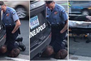 Người da màu bị cảnh sát Mỹ ghì cổ tới chết thổi bùng phẫn nộ