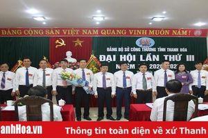 Đại hội Đảng bộ Sở Công Thương lần thứ III