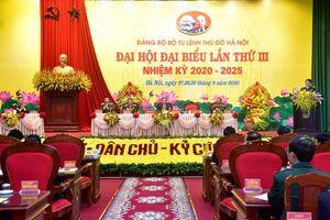 Khai mạc Đại hội đại biểu Đảng bộ Bộ Tư lệnh Thủ đô Hà Nội lần thứ III