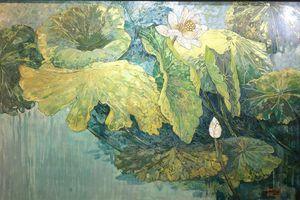 Triển lãm lần thứ 5 của nhóm họa sĩ 'Sơn ta Việt Nam'