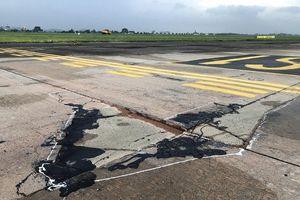 Bộ GTVT tiếp tục cảnh báo tình trạng xuống cấp của đường băng sân bay Nội Bài