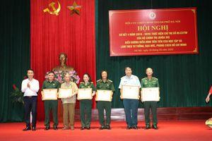 Hội Cựu chiến binh thành phố Hà Nội khen thưởng nhiều tập thể, cá nhân tiêu biểu