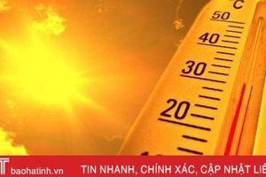 Hà Tĩnh sắp đón nắng nóng diện rộng, nhiệt độ cao nhất 40 độ C