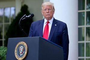 Tổng thống Trump công bố chính sách mới với Trung Quốc