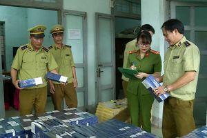 Quảng Bình: Phát hiện bắt giữ số lượng 'khủng' thuốc lá ngoại nhập lậu