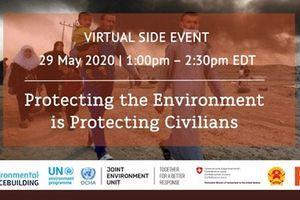 Bảo vệ môi trường trong xung đột vũ trang