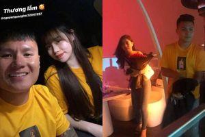 Quang Hải mặc áo đôi với Huỳnh Anh, dân mạng lại phát hiện ra sự 'trùng hợp' lạ thường?
