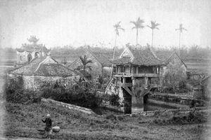 Bộ ảnh cực quý về Hà Nội năm 1885