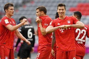 Bayern đá như 'đi chơi' cũng vô địch đến nơi