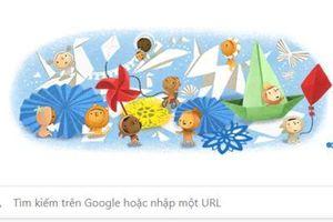 Google Doodle hôm nay 1/6/2020: Chúc mừng ngày Quốc tế thiếu nhi