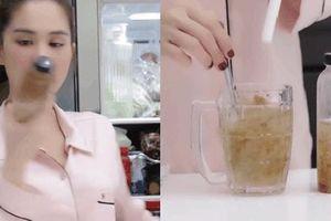 Mủ trôm tốt cho da và sức khỏe thế nào mà khiến Ngọc Trinh nghiện đến nỗi uống 3 lần/ngày trong mùa hè?