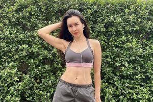 Lưu Hương Giang không ăn sau 18h để có thân hình thon gọn