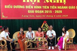 Lạng Sơn: Biểu dương điển hình tiên tiến ngành Giáo dục giai đoạn 2015 -2020