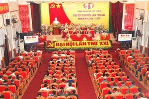 Vĩnh Phúc: Khai mạc Đại hội đại biểu Đảng bộ huyện Lập Thạch lần thứ XXI