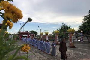 'Con đã về' tại chùa Đống Cao
