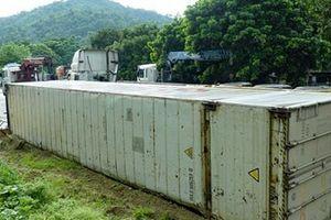 Nguyên nhân khiến xe container tiếp tục lật tại 'điểm đen' Nà Lơi