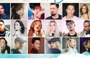 Trọng Hiếu và 17 nghệ sĩ quốc tế cùng thực hiện dự án âm nhạc Under The Same Sky