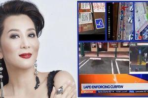 Nhà hàng ở Mỹ của MC Nguyễn Cao Kỳ Duyên bị người biểu tình đập phá