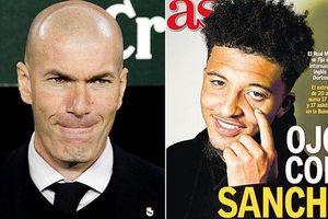 Real Madrid lao vào giành giật Sancho với MU
