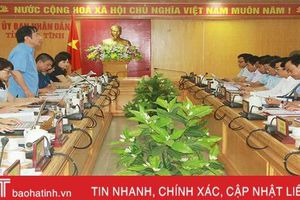Hà Tĩnh giám sát tốt việc triển khai chính sách hỗ trợ người dân ảnh hưởng dịch Covid-19