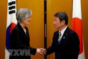 Ngoại trưởng Hàn Quốc và Nhật Bản trao đổi về các hạn chế xuất khẩu