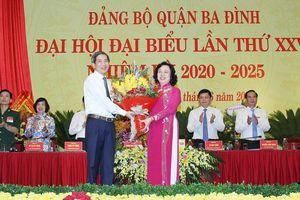 Đồng chí Hoàng Minh Dũng Tiến tiếp tục giữ chức Bí thư Quận ủy Ba Đình
