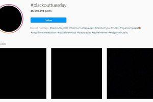Giới nghệ sĩ và mạng xã hội thay avatar đen để tưởng nhớ George Floyd