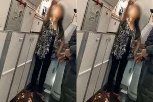 Clip: Người phụ nữ làm loạn trên máy bay hóa ra vì lý do này