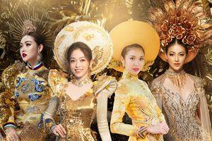 10 National Costume vàng rực đẹp nhất lịch sử: Phương Khánh - Tường San chiến thắng vẻ vang
