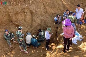 Tìm thấy hố chôn tập thể 17 chiến sĩ đặc công tại Quảng Nam