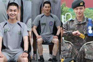 Loạt ảnh khám phá cuộc sống trong quân ngũ của sao Hàn: Ai cũng đầy đặn lên trông thấy!