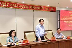 Văn nghệ sĩ, trí thức, chức sắc tôn giáo góp ý vào Dự thảo văn kiện Đại hội Đảng bộ TP Hà Nội