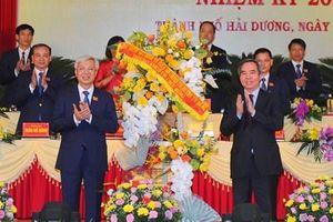 Đồng chí Lê Đình Long tái đắc cử Bí thư Thành ủy Hải Dương