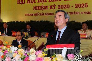 Trưởng Ban Kinh tế Trung ương dự Đại hội Đảng bộ TP Hải Dương