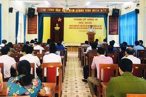 TP Uông Bí: 16.138 ý kiến tham gia, góp ý vào dự thảo văn kiện đại hội Đảng các cấp