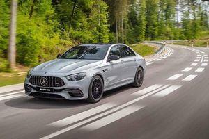 Mercedes-AMG E63 2021 lộ ảnh ngoại thất trước giờ G