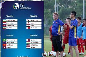 U-19 Việt Nam cùng bảng với nhà vô địch Saudi Arabia
