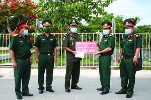 Hỗ trợ Tiểu khu quân sự Pusát